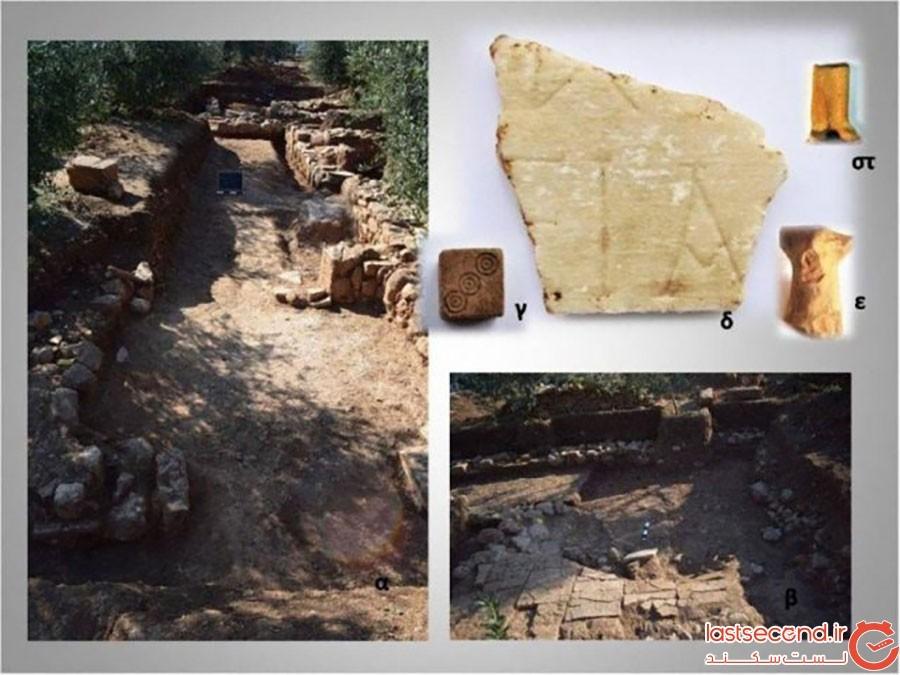 شهر گمشده تینیا در یونان، پیدا شد