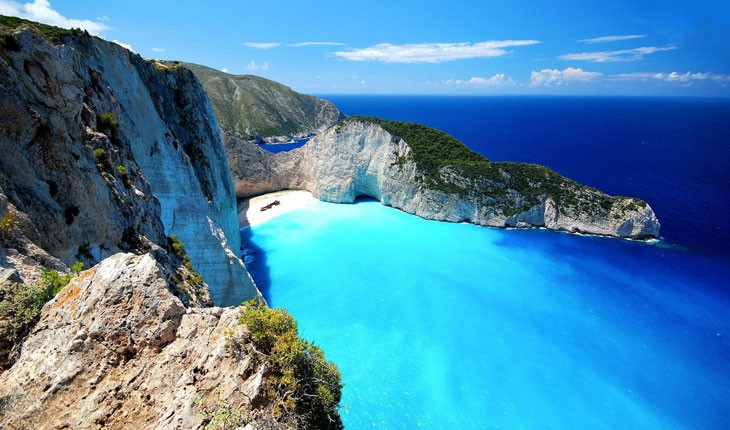 آبی ترین آب های دنیا
