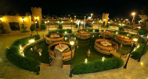 رستوران سنتی قلعه اورانوس (بندرعباس)