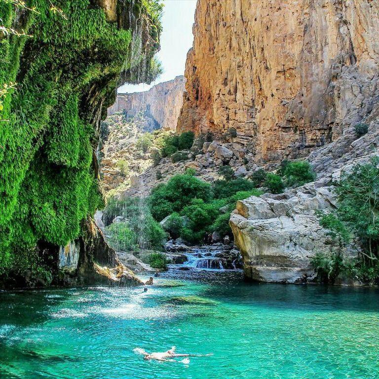 Tang-e Boraq Waterfall