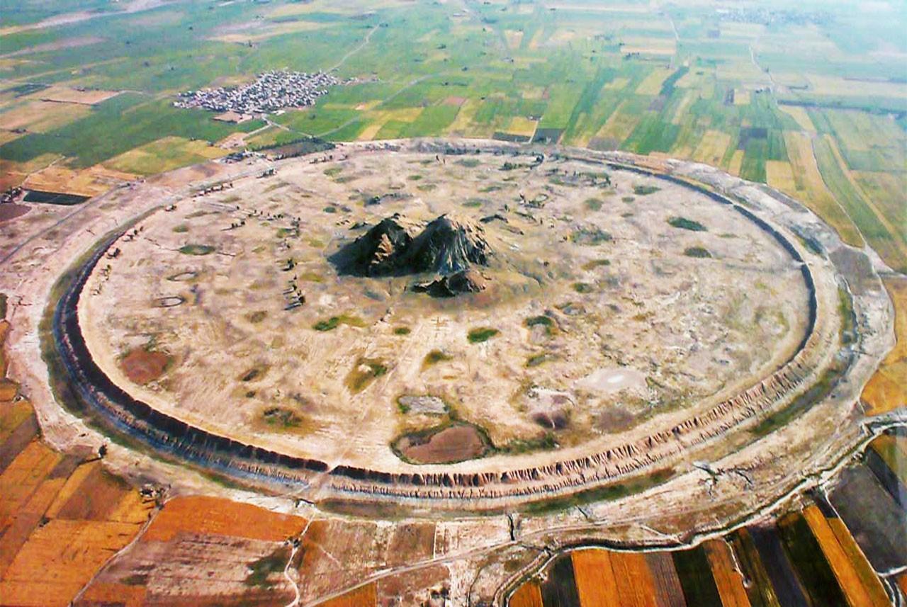 دارابگرد فارس، یادگار داریوش کبیر