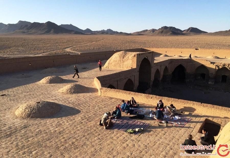 کویر ورزنه اصفهان، محل تلاقی زمین و آسمان