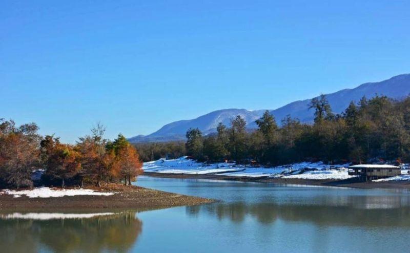 دریاچه سد آبیدر