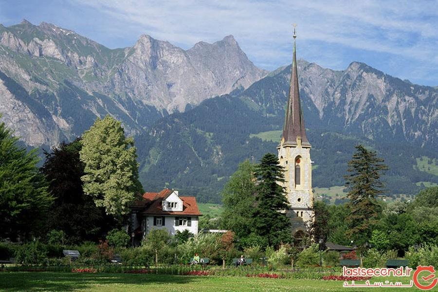 دهکده بدراگاز (Bad Ragaz)؛ سوئیس