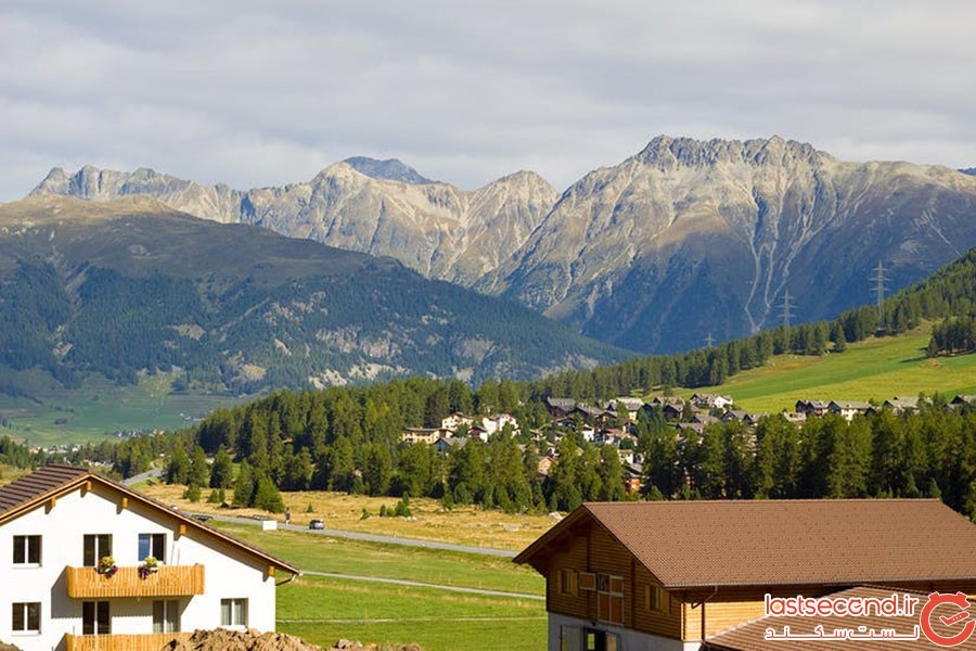 دهکده پونترسینا (Pontresina)؛ سوئیس