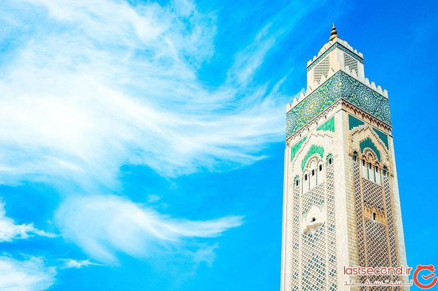مسجد حسن دوم در شهر کازابلانکا