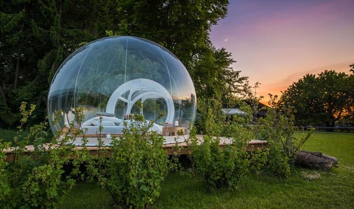 بهترین هتل های حبابی دنیا در دل طبیعت