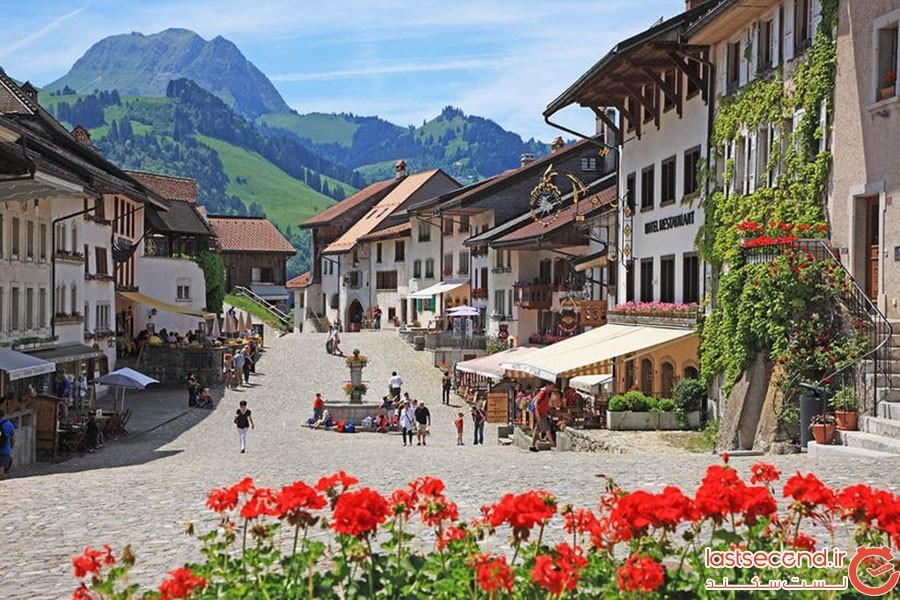 گرویر (Gruyeres)؛ سوئیس