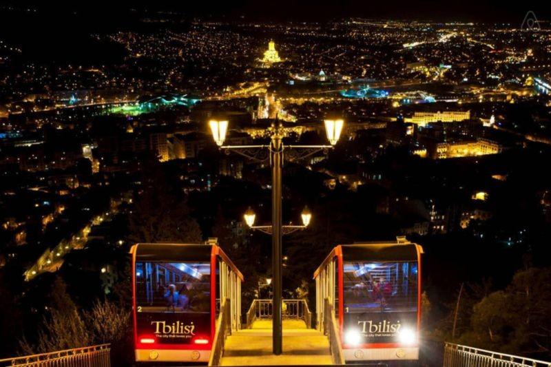 Funicular Tbilisi