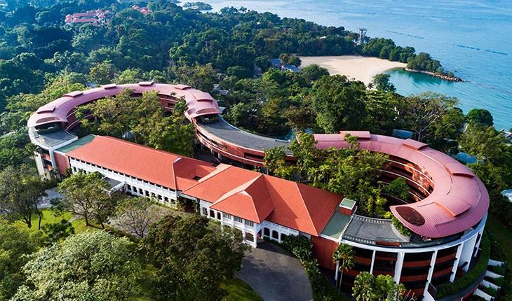 اقامتگاه مجلل ترامپ و کیم جونگ اون در جزیره سنتوزا