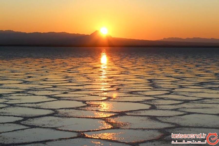 دریاچه نمک خور