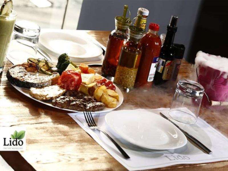 رستوران ایتالیایی لیدو