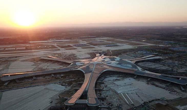 فرودگاه عظیم دکسینگ پکن در سال 2019 افتتاح می شود
