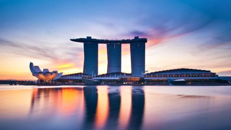 Marina Bay Sands Beach
