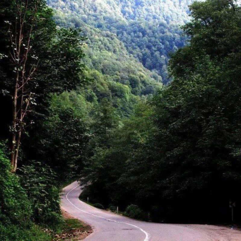 Siahkal to Deylaman Road