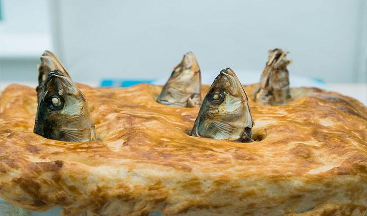 پای کله ماهی، عجیب ترین غذای کریسمس