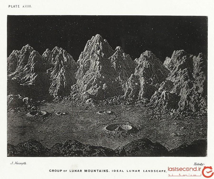 راز تصاویر ثبت شده از ماه در سال 1874 کشف شد