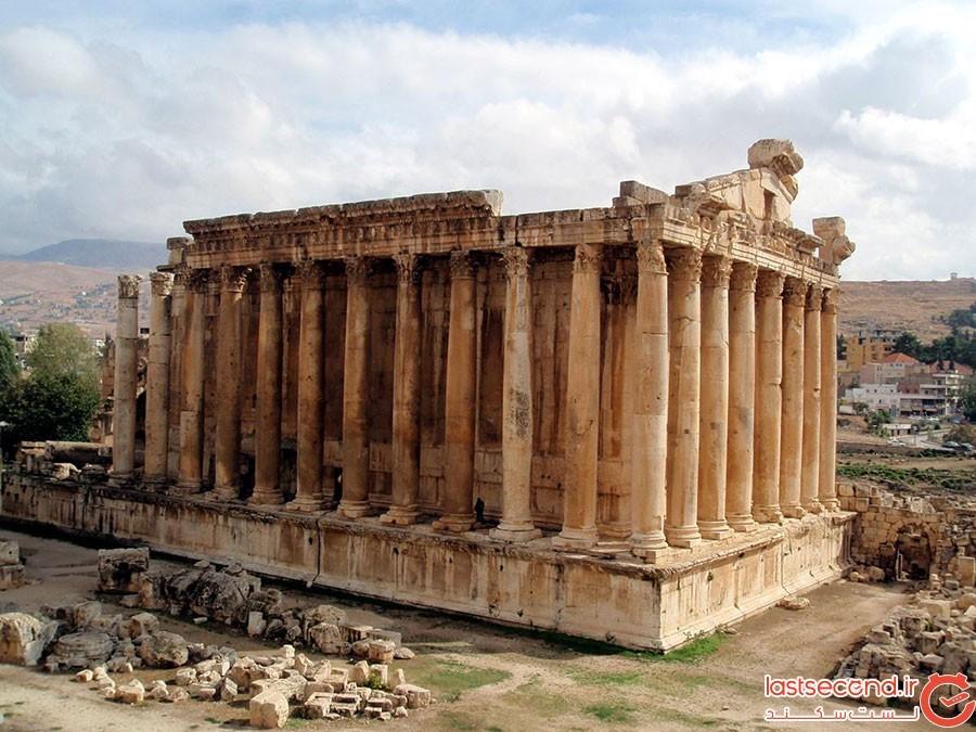 معبد ژوپیتر؛ لبنان