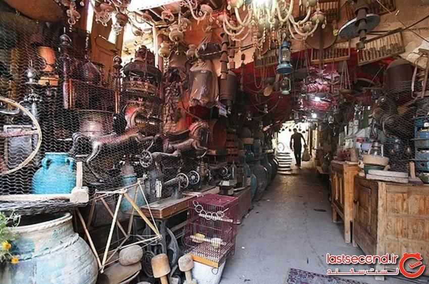 چاه حاج میرزا قهوه خانه قدیمی اصفهان