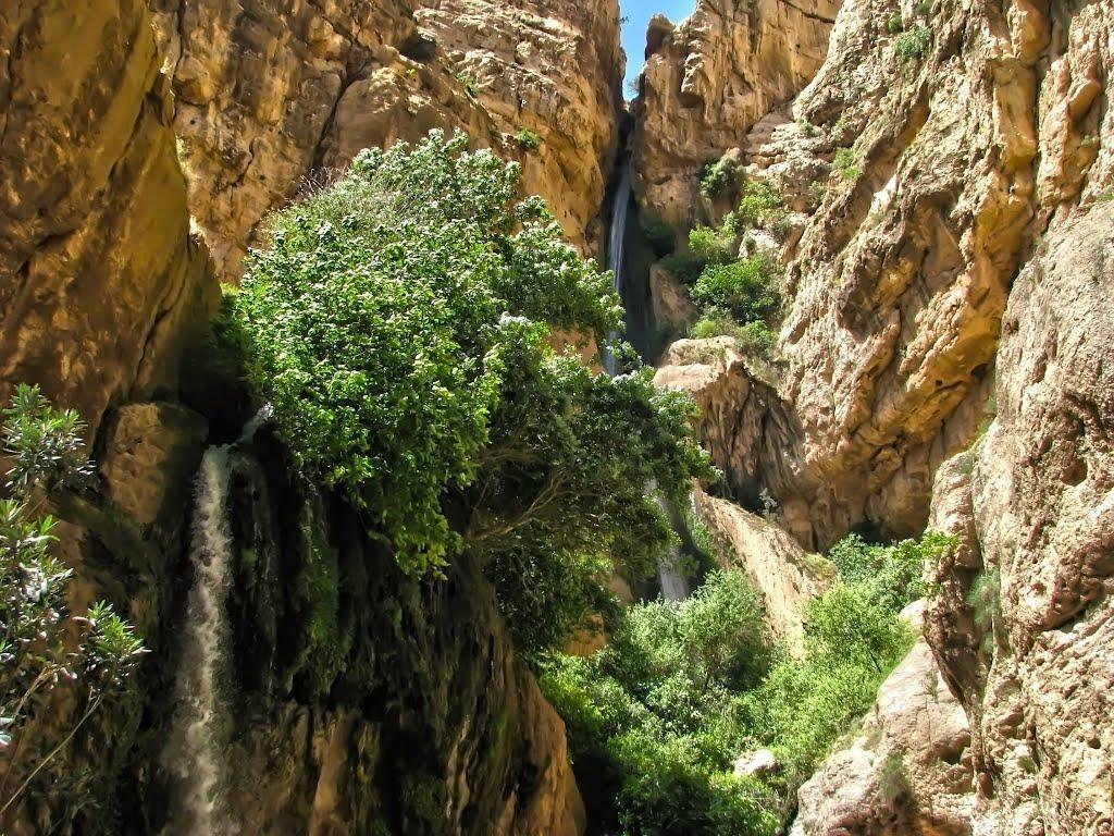 آبشار پیران، آبشار سه طبقه کرمانشاه