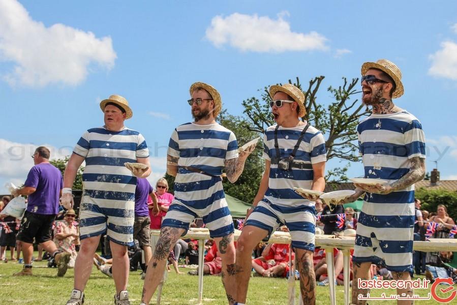 جشن پرتاب پای در انگلستان