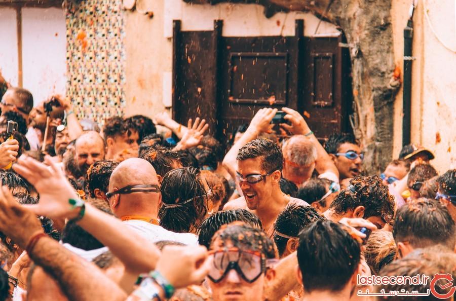 جشنواره لاتوماتینا در اسپانیا