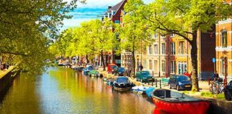 گشتی میان دوچرخه سواران آسیابان، روتردام
