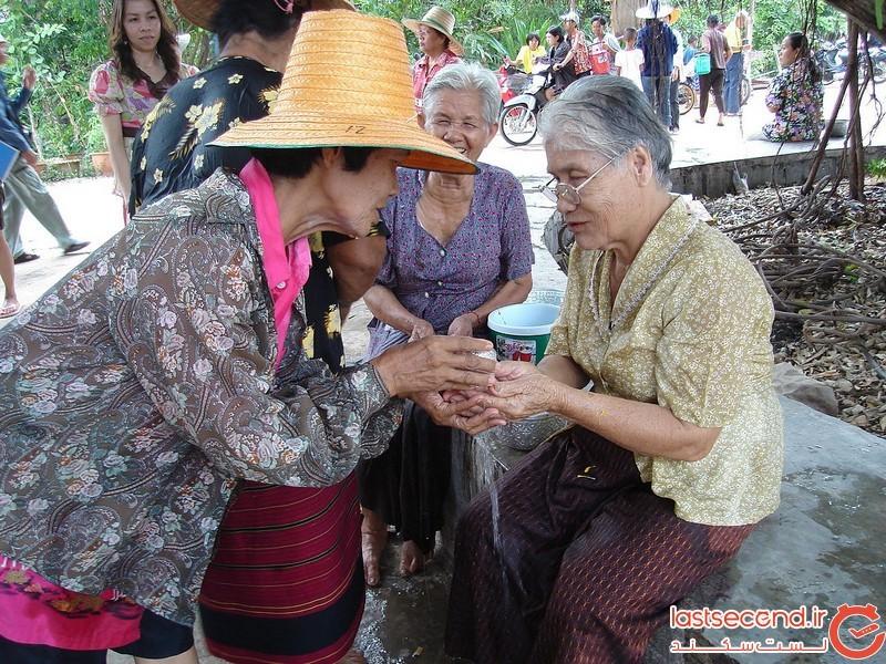 جشن سونگکران در تایلند