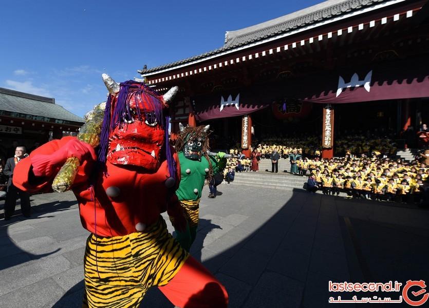 جشن ستسوبون در ژاپن