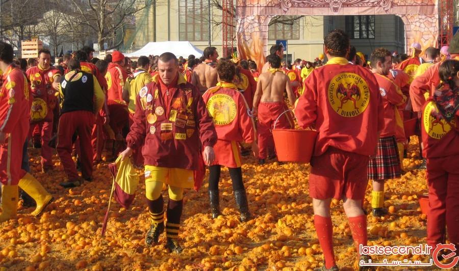 جنگ پرتقال در ایتالیا