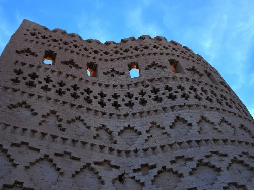 هرفته، قلعه تاریخی صفویان در مهریز