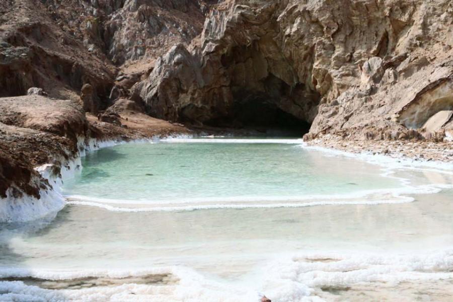 غار خرسین، پدیدهای بکر در هرمزگان