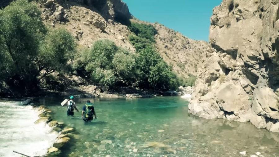 دره نی، دره ای پرآب در نزدیکی پیرانشهر