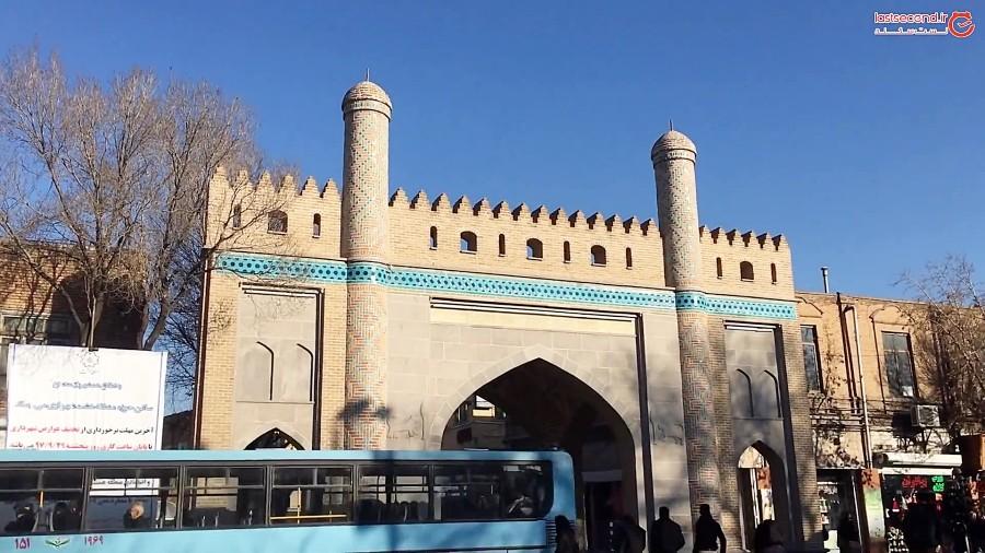 پیاده راه تربیت تبریز