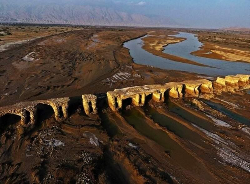 پل لاتیدان، طولانی ترین پل تاریخی هرمزگان