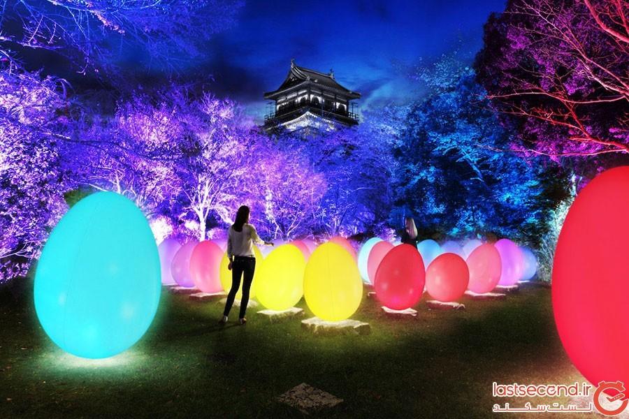 تبدیل قلعه هیروشیما به گالری هنر دیجیتال