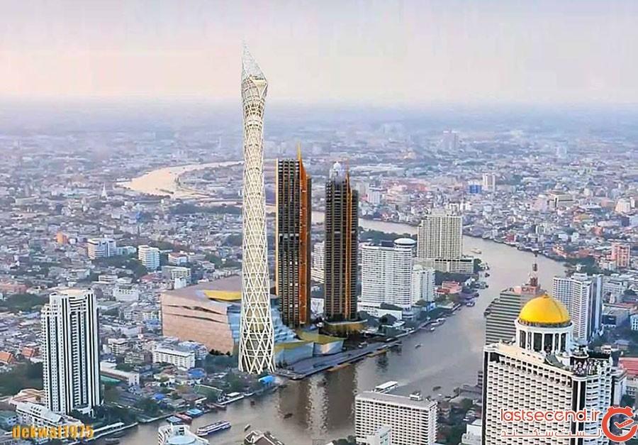 برج ۴۵۹ متری در بانکوک