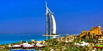 گشتی کوتاه در سرزمین آسمانخراش ها، دبی