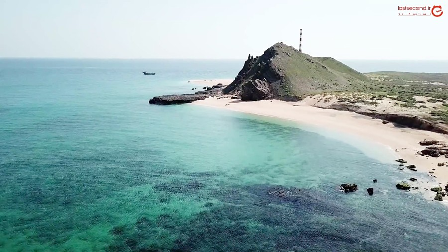 سفر به جزیره ای ناشناخته در قلب خلیج فارس
