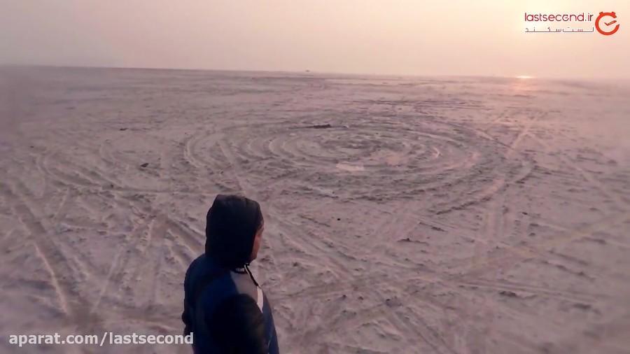 جادوی طلوع دریاچه ارومیه