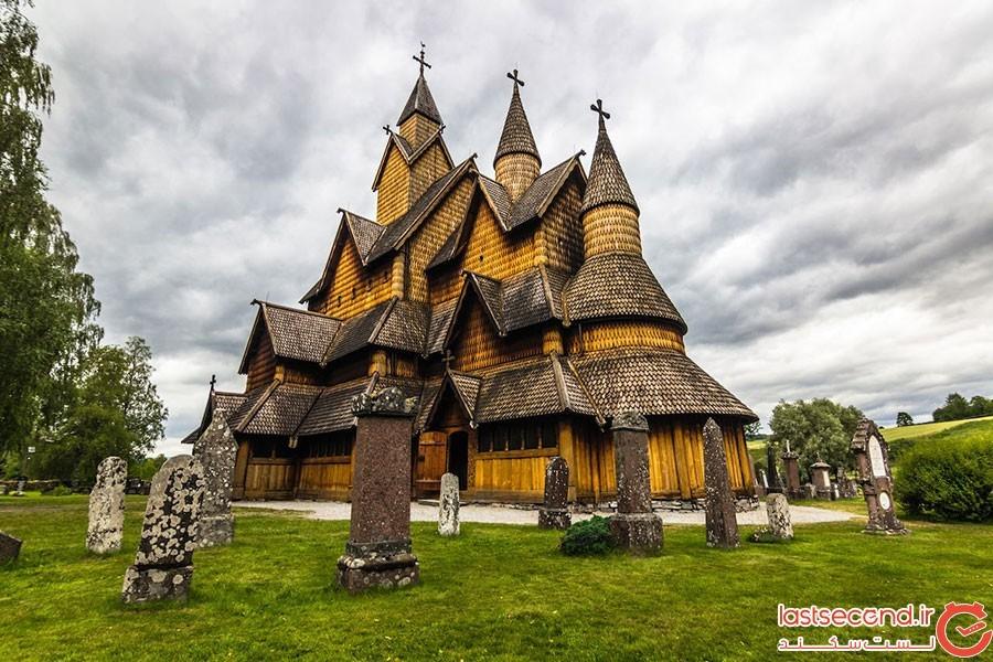 کلیسای هدال استیو در تلمارک نروژ