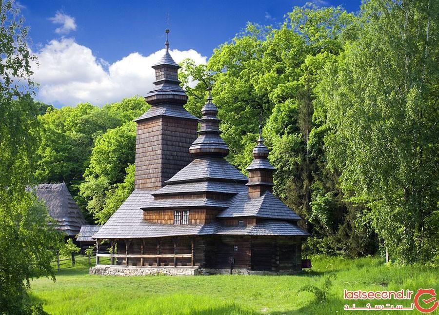 کلیساهای چوبی پیروگوو در اوکراین
