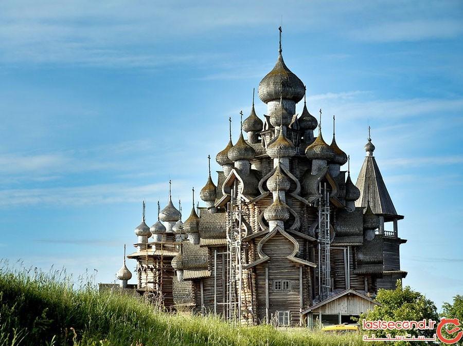 کلیسای جزیره کیژی روسیه