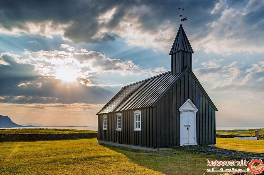 کلیسای Búðir در ایسلند