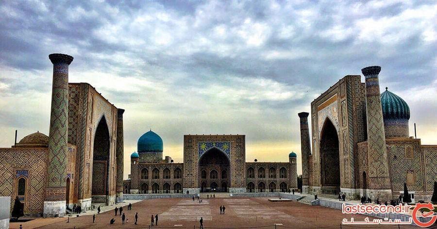 جاده طلایی سمرقند در ازبکستان