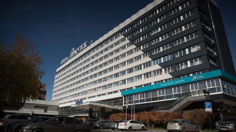 هتل ایرکوتسک