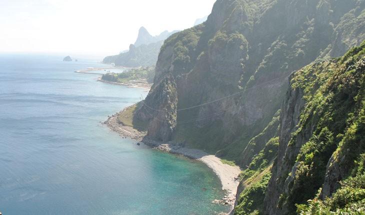 جزیره اولئونگدو در کره جنوبی که کمتر کسی از آن با خبر است