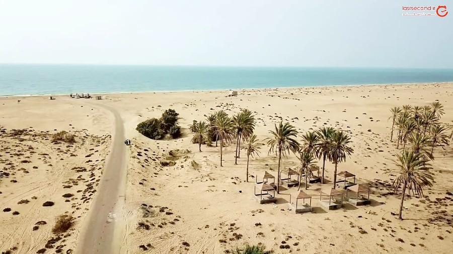ساحل درک و اسکله بریس جاذبه های اسرار آمیز ایران