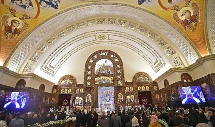 بزرگترین کلیسای خاورمیانه در مصر افتتاح شد!
