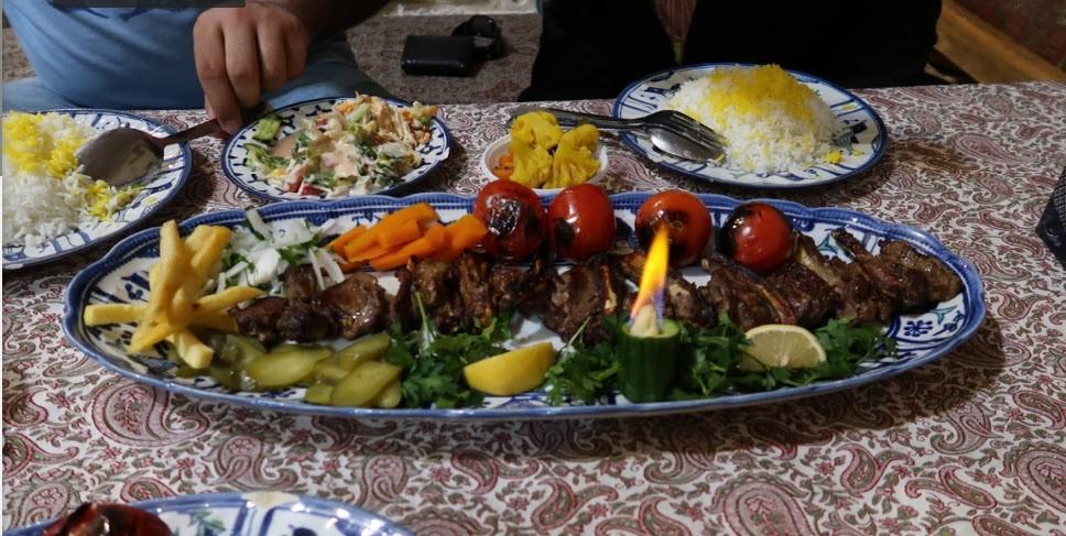رستوران شاه عباسی میبد